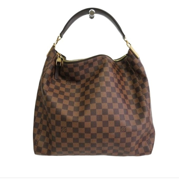 Louis Vuitton Handbags - LV Portobello GM Hobo Damier Ebene 5223d0e9c1bf7